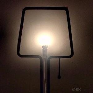 lampe autocollante