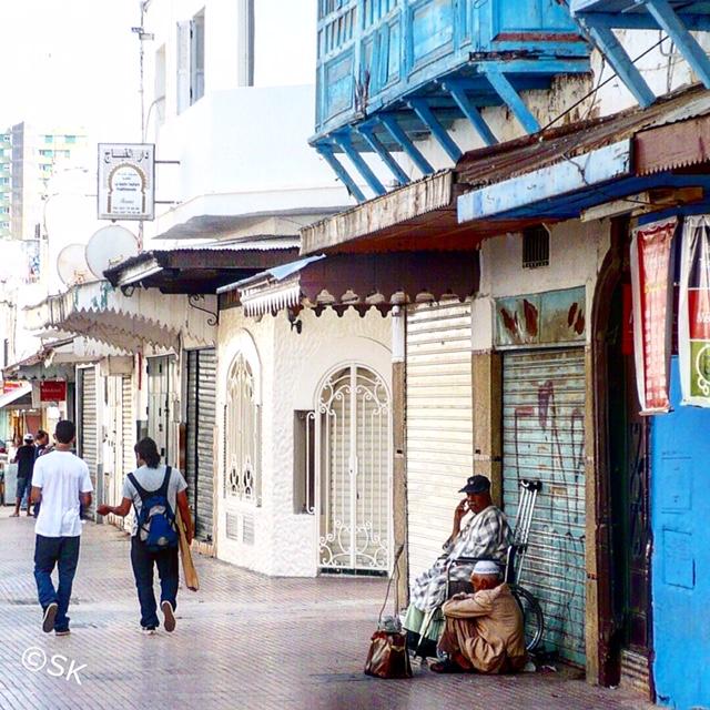 Beggar in Rabat