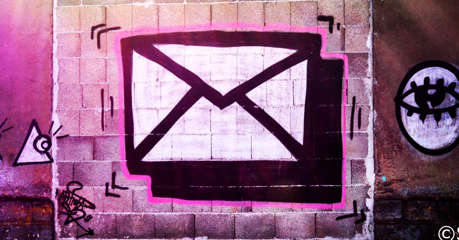 Letter Graffiti, Pfaffenthal