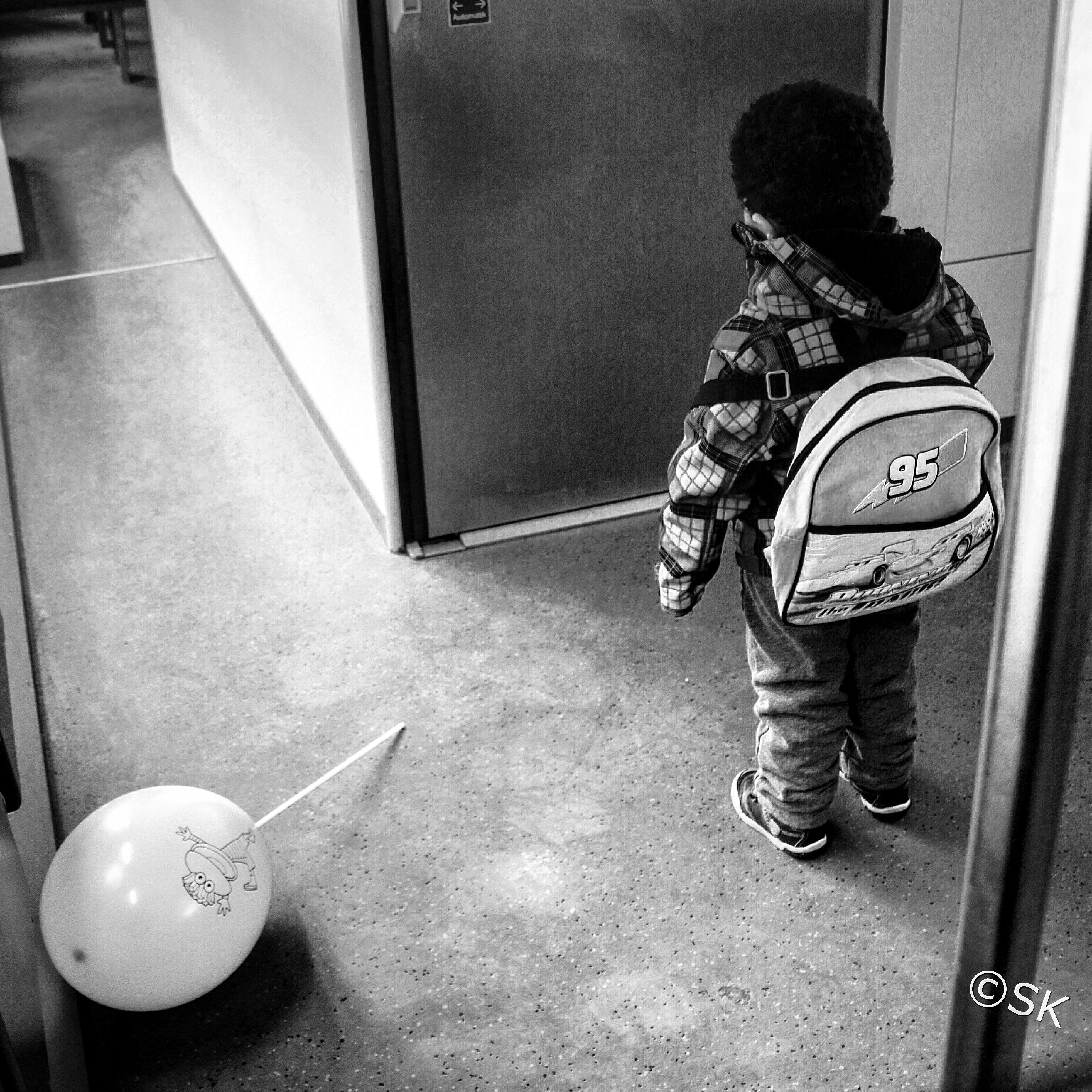 The boy and the balloon
