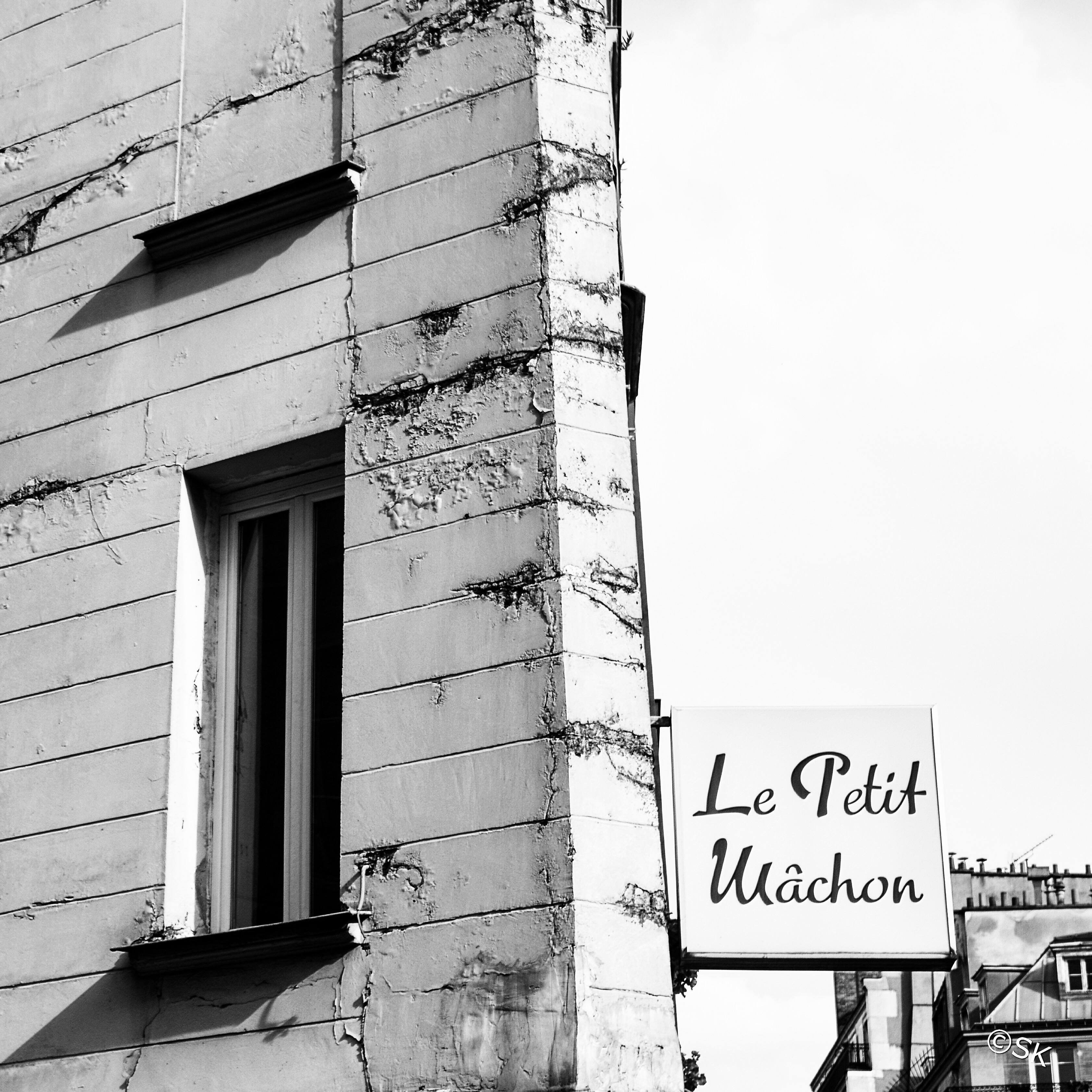 Le petit Mâchon à Paris